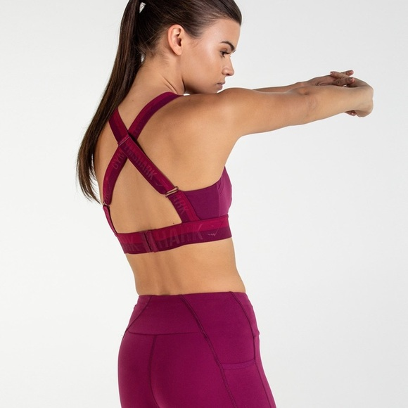 b8f902d9e6ea5 Gymshark Other - Gymshark empower sports bra - deep plum - Medium
